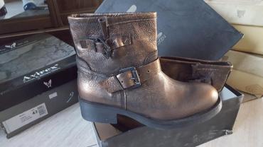 дев сапоги в Ак-Джол: Итальянские брендовые сапожки, демисезон,  Размер 39 Распродажа!