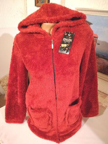 Plisana majica broj - Srbija: Nova zenska dzemper-jakna sa kapuljacom ENGIN. Turska. Odlicna zenska