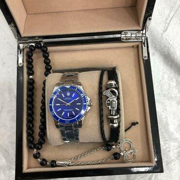 Gümüşü Kişi Qol saatları Rolex