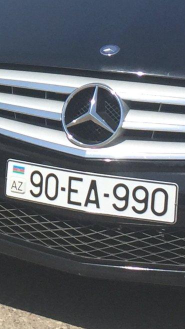 Bakı şəhərində Avtomobil qeydiyyat nishani 90-EA-990