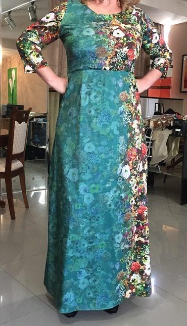 Платье в пол размер 52-50,новое. в Бишкек