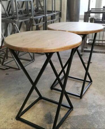 кухонный стол стулья в Кыргызстан: Принимаем заказы на изготовление лофт мебели. Делаем качественно
