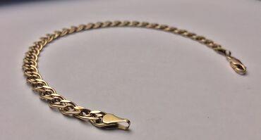 Цепочку и браслет - Кыргызстан: Золотой браслет   585 проба  4,85 грамм 21,6 см В Алтыне такой стоит 3