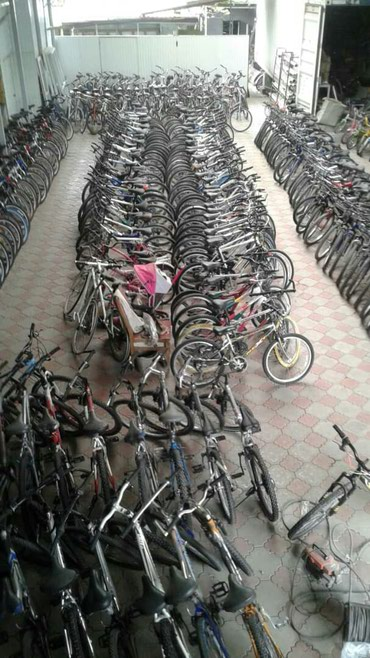 Большой выбор велосипедов из Кореи в Кок-Ой