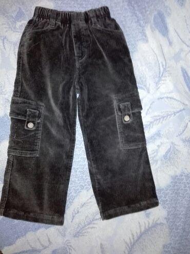 Шикарные вельветовые брюки на мальчика на осень, с колготками и зимой