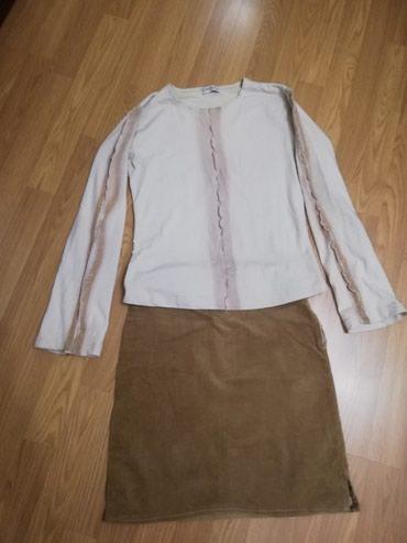 Suknjica od somota i prelepa bluzica sa zlatnim detaljima - Lajkovac