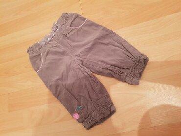Dečije Farmerke i Pantalone   Srbija: Somot pantalone, vel 74