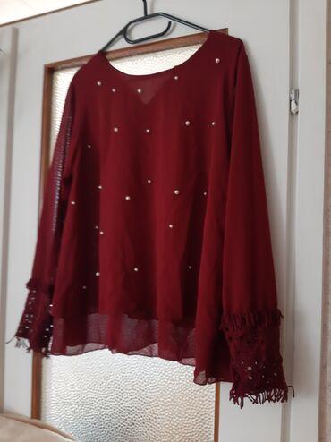 Ženska odeća | Crvenka: Tanka bluza. Velicina univerzalna