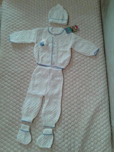 Комплект для новорожденных (0-3мес.) новый, Турция