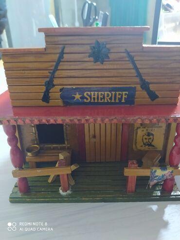 Домик кж - Кыргызстан: Домик Шерифа деревянный домик