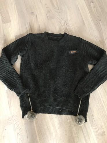 розовый свитерок в Кыргызстан: Теплый свитерок турция! Размер С! Фисташкового цвета