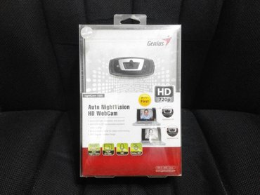 Веб-камеры - Кыргызстан: Веб-камера Genius LightCam 1020 с ночным виденьем!Брал за 2500. Очень