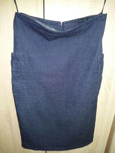 ПРОДАЮ ЮБКУ джинсовую фирменную/ размер L /. В идеальном состоянии как