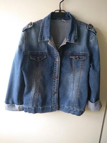 детская джинсовая куртка в Кыргызстан: Джинсовая куртка женская, размер 42-44, отличное состояние, носили оче