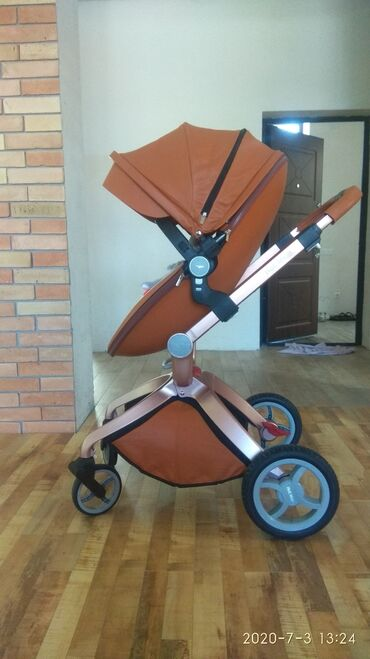 Продаю коляску Хот Мом в очень хорошем состоянии. Б/У   небольшой торг
