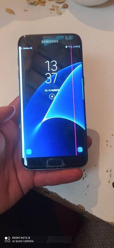 Samsung S7 edge 32G окончательная цена.6000сом. состояние идеальное на