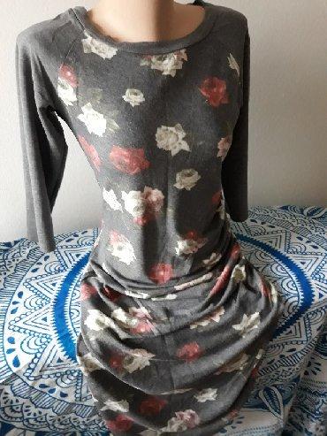 Nove i malo nosena haljina siva sa prugama velicine Pro piu grande