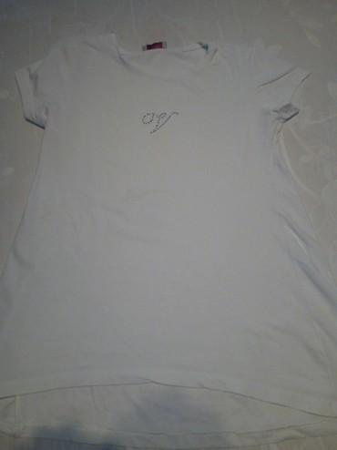 Farmerke-vl - Srbija: Duža bela majica u veličini 12