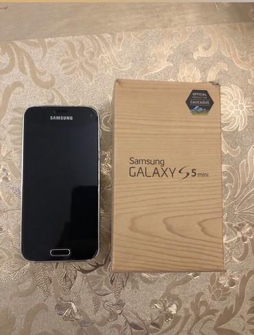 Samsung qalaxy s5 - Azərbaycan: İşlənmiş Samsung Galaxy S5 Mini 16 GB qara