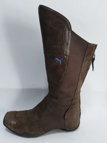PUMA kožne original duboke čizme,izradjene od fine kvalitetne mekane