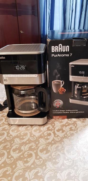 Кофеварка сенсорнаяноваяне пользовались, Braun Kf 7120