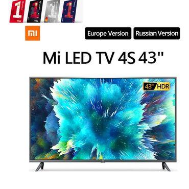 Televizor xiaomi mi led smart tv 4s 43 - 649 azn  xüsusiyyətləri: - ek