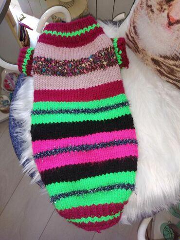 Novo, topao džemper, može za manjeg psa ili mačku