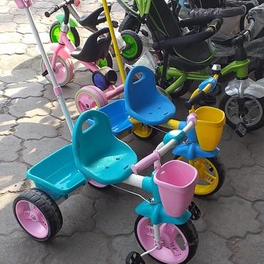 детский трехколесный в Кыргызстан: Трехколесные велосипеды управления пр Россия. доставка по городу есть