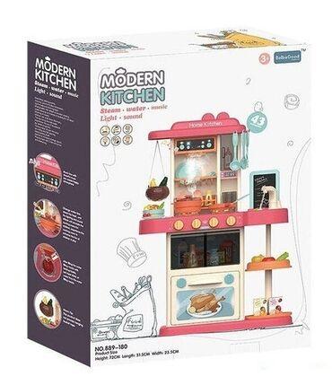 Игровая кухня Home Kitchen 889 со звуковыми и световыми эффектами (43