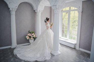 Продаю свадебное платье цвета Айвори, в Бишкек