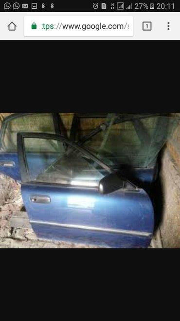 запч на тайота карина е двери правый.каробка.крышка багажника и.т.д в Каракол