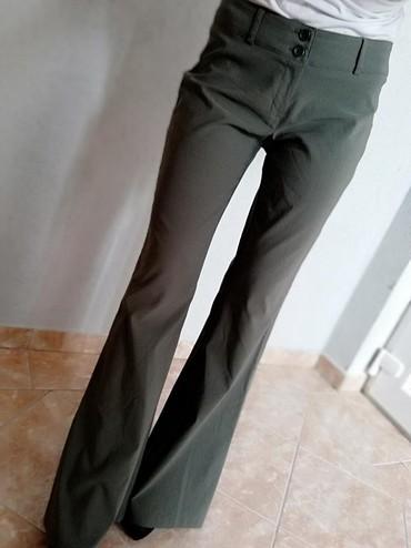 Pimkie - Srbija: Savrsene pantalone, pimkie, maslinaste. Nove!!! Vel s /m. Veoma