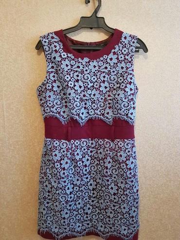 коктейльное платье большого размера в Кыргызстан: Продаю . Качество отличное. Произ.Италия. Одев.один раз. Размер:36.(S)