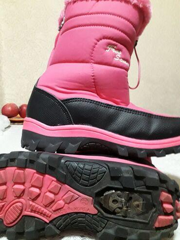 розовые колготки в Кыргызстан: Детские сапоги производство Корея,в отличном состоянии,длина22см,как