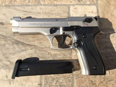 Ekol Magnum 9mm,startni pistolj MAT SIVI(novo) - Belgrade