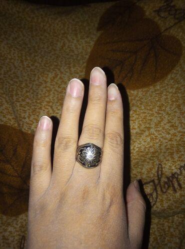Кольцо серебро чистое 925 проба за 600с плотное дизайнерская работа