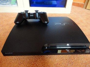 Продаю PS3 SLIM прошитая. 1 джойстик и все провода. Стоит самая послед в Бишкек