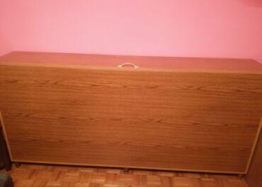 Komoda - Srbija: Komoda za posteljinu 200x97x35.Bez oštećenja. Hitna prodaja zbog