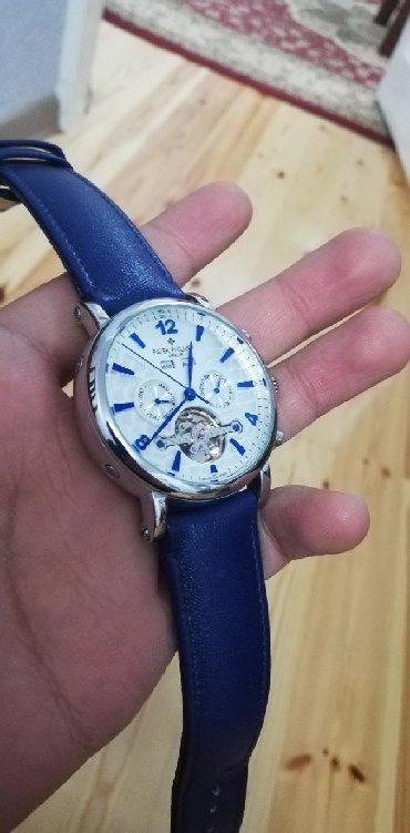 реплику patek philippe в Кыргызстан: Серебристые Мужские Наручные часы Orient