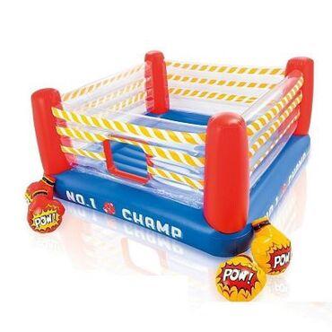 Надувной боксерский ринг для детей, довольно большой детский