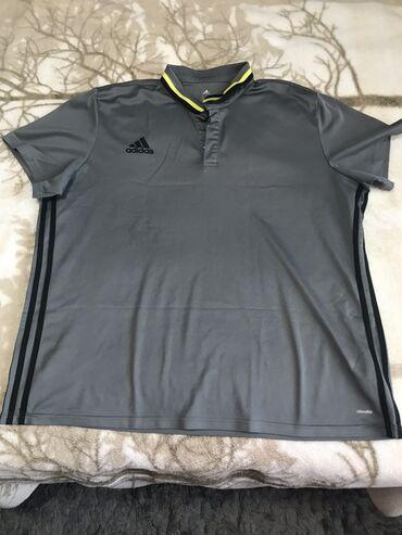 Мужская футболка «Адидас» оригинал, размер 2XL. Идеальное состояние