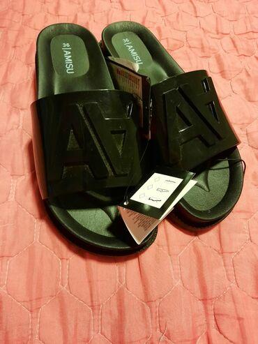 Dzemper na kopcanje - Backa Topola: Nove papuce  Kupljene u New Yorkeru za 1300din