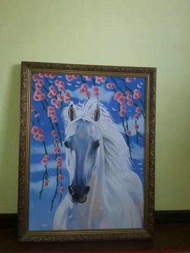 с искусственным в Кыргызстан: Картина и цветы *Картина красивая в идеальном состоянии, размер
