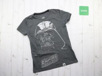 Крутая женская футболка с принтом Star Wars,р. M Длина:59 см Пог: 41 с