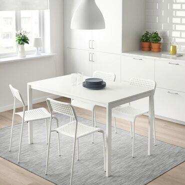 купить приус в бишкеке в Кыргызстан: Стол столик кухонный ИКЕА IKEA 100% новый в упаковке. Размер 125х75