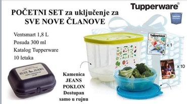 Danas je prilika za pridružiti se Tupperware ekipi - Kragujevac