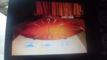 """stolustu saatlar - Azərbaycan: Часы настольные, деревянный""""Ромб""""(Пахлава) фигурные, коричневый"""