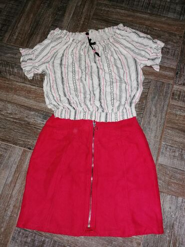 NOVO!!!Komplet kosulja h&m(vel. 170) 350din.suknja New yorker