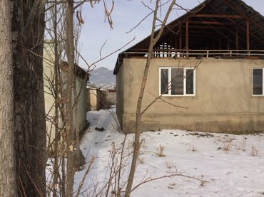 город Токмок( Новостройка район Винсовхоза) недостроенный дом 9*10. Са в Токмак