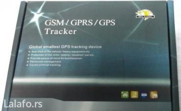 Gps tracker tk102b + auto punj. I baterijaodlican traker. - Beograd